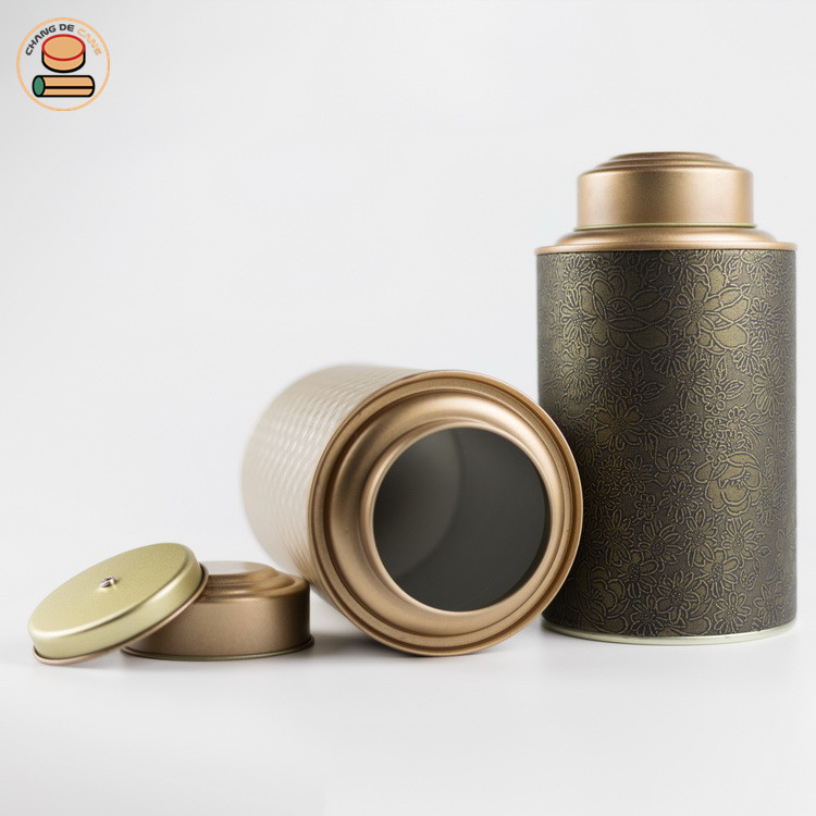 Customization design paper tube for tea. push up paper tube packing for tea