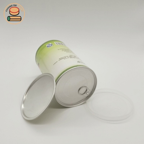 Paper packaging for dried fruit round kraft paper cylinder box with dry fruits biodegradable cardboard paper tube