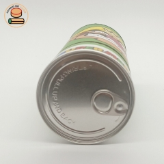 round coin can tin piggy bank biodegradable cardboard paper tube with coin cardboard paper tube packaging
