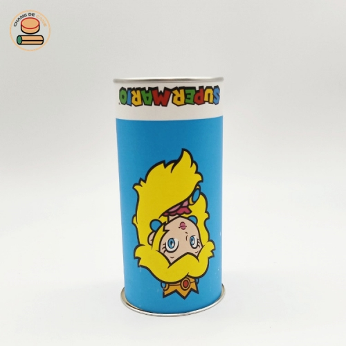 customzied cylinder fancy paper tube packaging for kids color pen moistureproof agent deodorant packaging