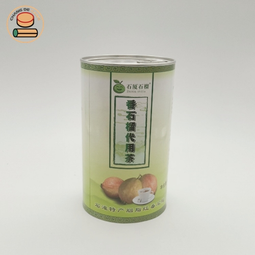 Direct Manufacturer Cylinder Customized Printing Recyclable Tea Food Grade Round Core kraft Paper Tubes