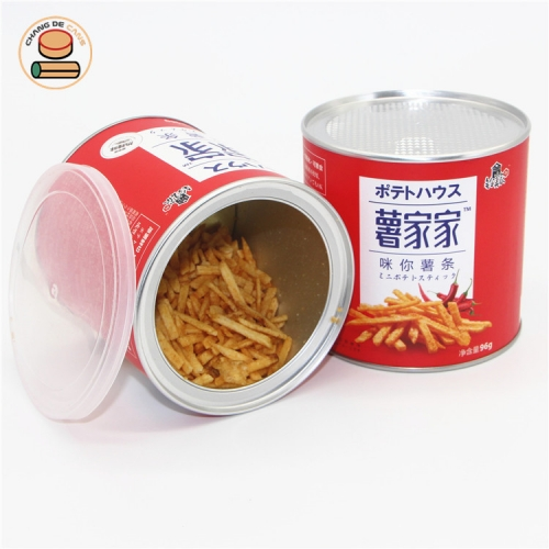 50% off 2020 hot sale potato chips shrimp chips dried sweet potato taro chips bugles paper tube boxes packaging