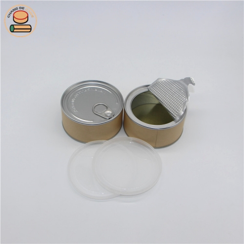 Food grade paper tube Airtight packaging cylinder packaging tube for honey butter chips Milk powder coffee cylinder packaging