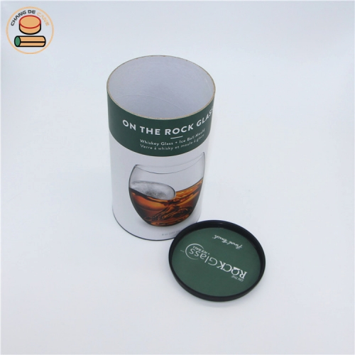 Supplying Custom Tea Cylinder Packaging Box Chinese Round Packaging Paper Tube With Logo