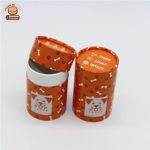 custom packaging paper tube cylindrical packaging box with Powdered sugar cardboard cylinders