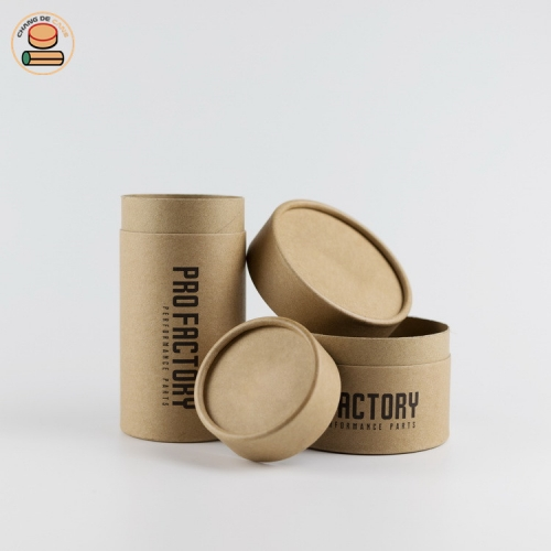 Lowest price of the whole network t-shirt deodorant candle poster background cigar double-layers paper tubeCustom Design Kraft Paper Tube Herbal Loose Tea Packaging Box