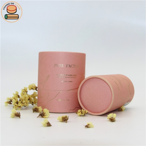 composite cardboard paper cans packaging tubes for Cosmetic bottle essential oil bottle