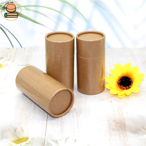 High quality custom size tea & food & powder cardboard round paper tube packaging