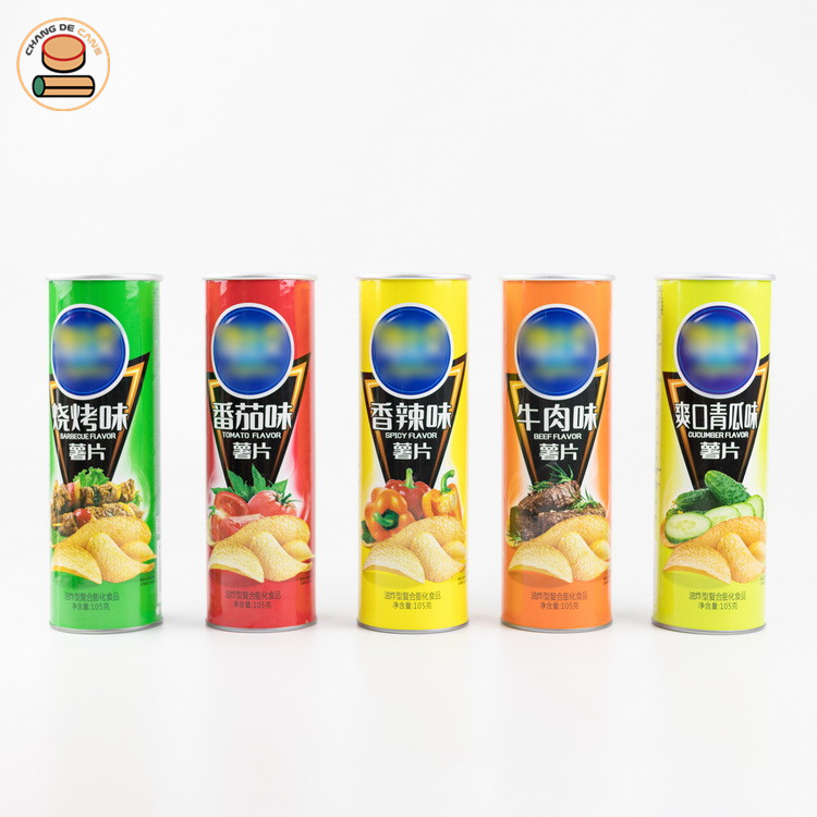 Potato chips paper tube can be used in the kitchen.